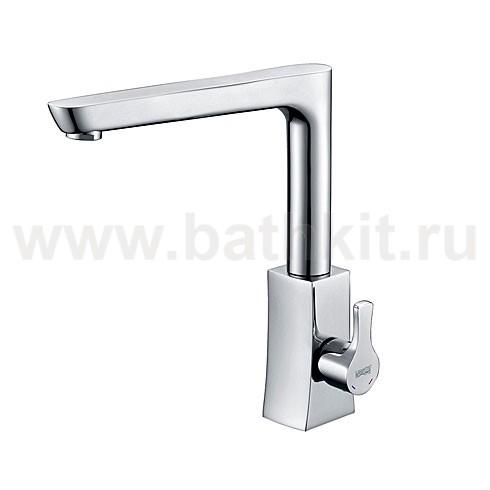 Смеситель для кухни с поворотным изливом WasserKraft Berkel 4807 - фото