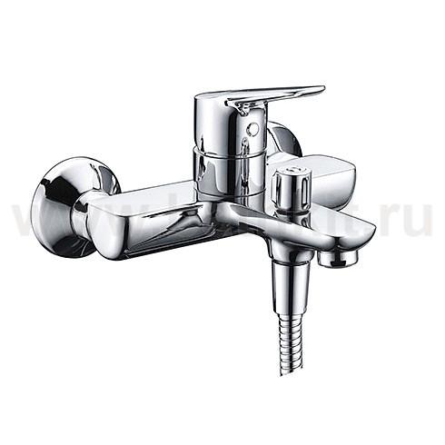 Смеситель WasserKraft Lippe 4501 для ванны с коротким изливом - фото