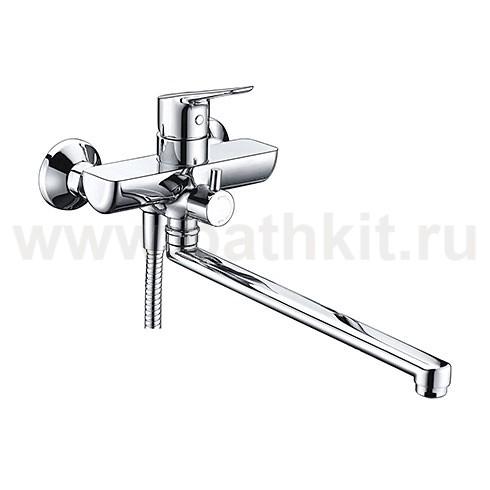 Смеситель для ванны с длинным поворотным изливом 4502L WasserKraft - фото