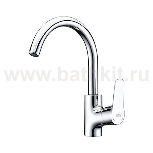 Смеситель для кухни с поворотным изливом 4507 WasserKraft - фото