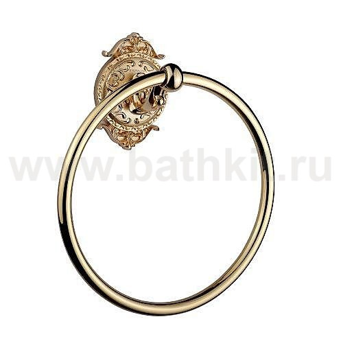 "Полотенцедержатель ""кольцо"" Hayta Classic Gold - фото"