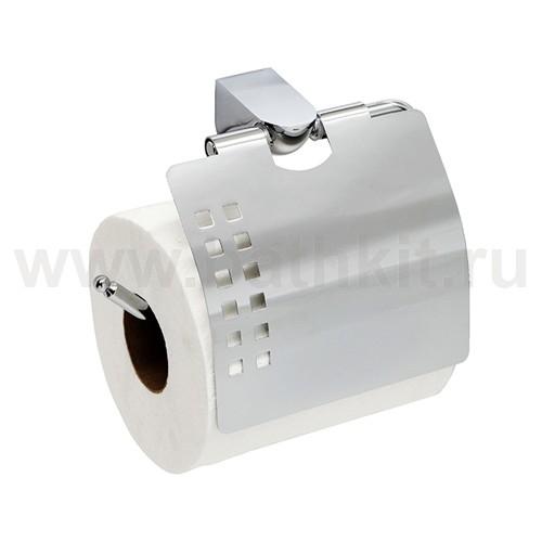 Держатель туалетной бумаги с крышкой WasserKraft Kammel K-8325 - фото