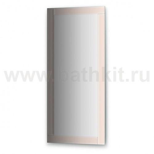 Зеркало с зеркальным обрамлением  (50х110 см) - фото