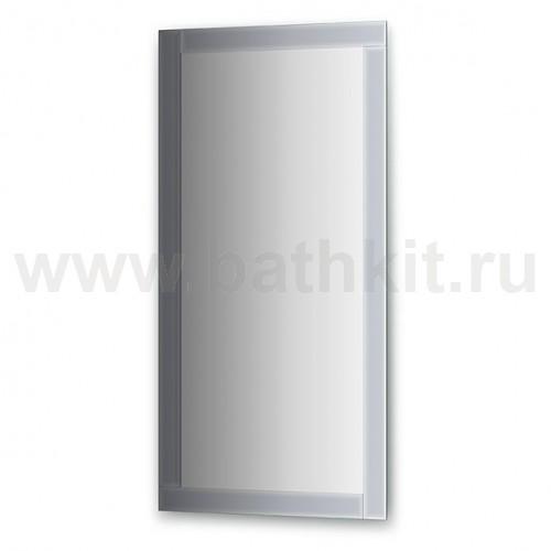 Зеркало с зеркальным обрамлением  (60х120 см) - фото