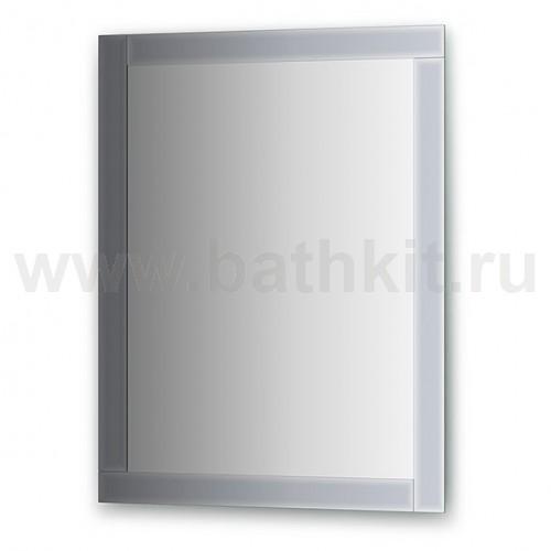 Зеркало с зеркальным обрамлением  (70х90 см) - фото