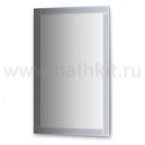 Зеркало с зеркальным обрамлением  (70х110 см) - фото