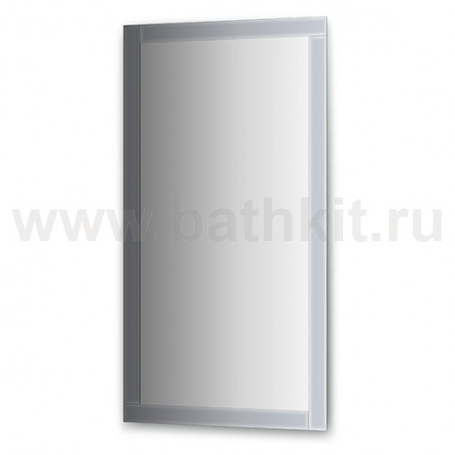 Зеркало с зеркальным обрамлением  (70х130 см) - фото
