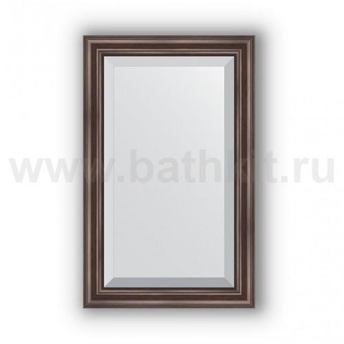 Зеркало в багетной раме (51х81 см) Палисандр - фото