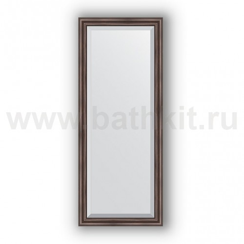 Зеркало в багетной раме  (61х151 см) Палисандр - фото