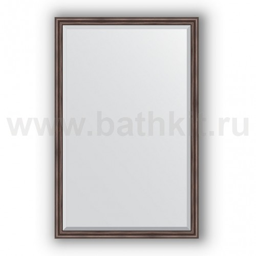 Зеркало в багетной раме  (111х171 см) Палисандр - фото