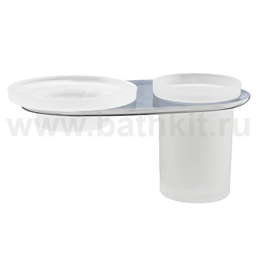Держатель стакана и мыльницы WasserKraft Kammel K-8326 - фото