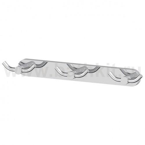Планка с тремя двойными крючками Artwelle Harmonia - фото
