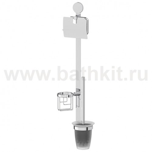 Комплект для туалета со стеклянным ершом Artwelle Harmonia - фото