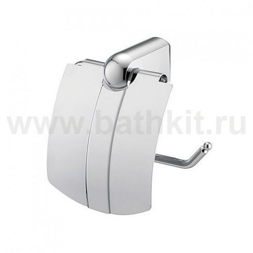 Держатель туалетной бумаги с крышкой WasserKraft Berkel K-6800 - фото