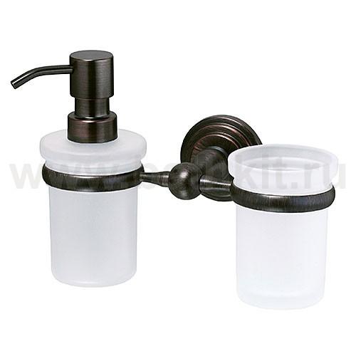 Держатель дозатора и стакана WasserKraft Isar K-7300 - фото