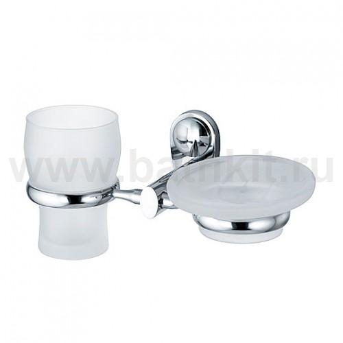 Держатель стакана и мыльницы WasserKraft Main K-9200 - фото