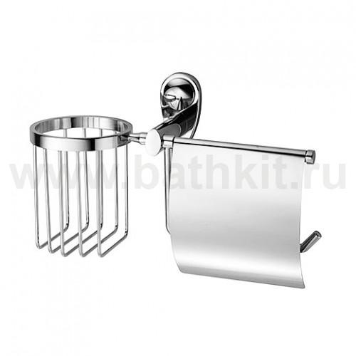 Держатель туалетной бумаги и освежителя WasserKraft Main K-9200 - фото