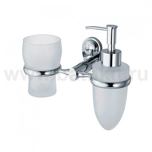 Держатель дозатора и стакана WasserKraft Main K-9200 - фото