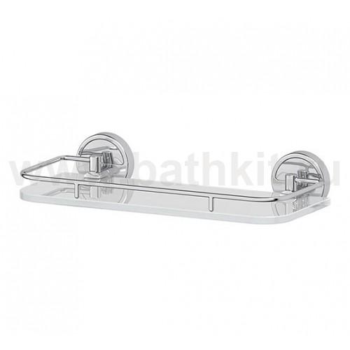 Полка 30 см (матовое стекло; хром) FBS Luxia - фото