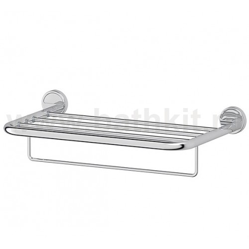 Полка для полотенец 50 см (хром) FBS Luxia - фото