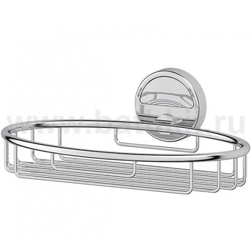 Полочка-решетка 22 см (хром) FBS Luxia - фото