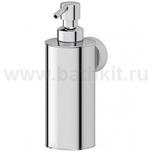 Емкость для жидкого мыла металлическая (хром) FBS Nostalgy - фото