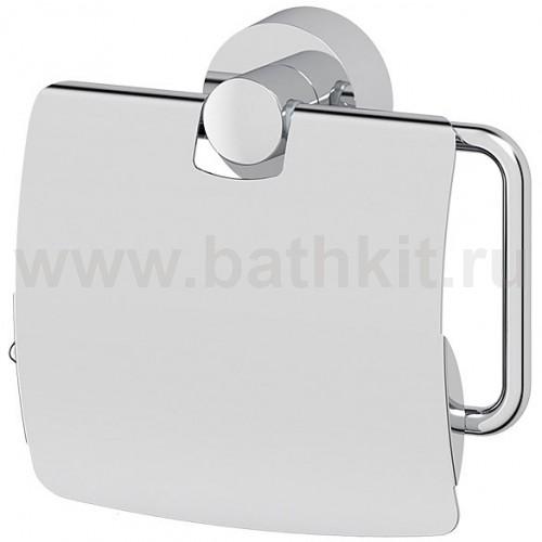 Держатель туалетной бумаги с крышкой (хром) FBS Nostalgy - фото