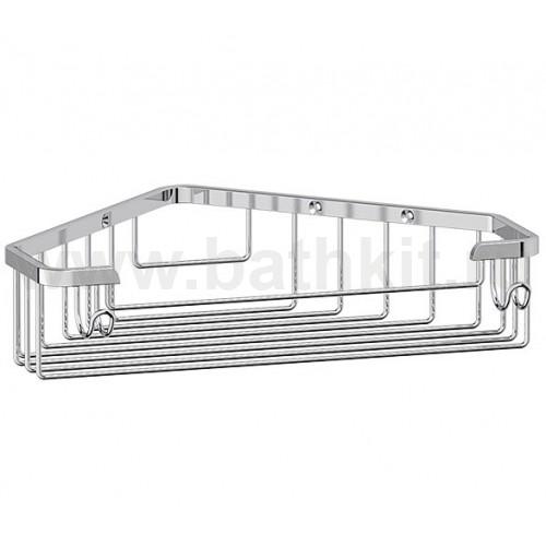 Полочка-решетка угловая 23 см (хром) FBS Ryna - фото