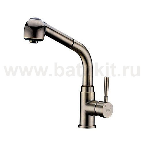 Смеситель для кухни WasserKraft A8237 с выдвижной лейкой - фото