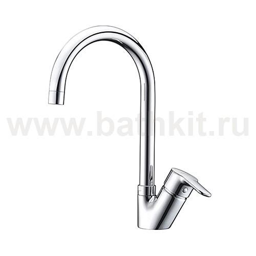 Смеситель WasserKraft Ruhr 24407 для кухни с поворотным изливом - фото