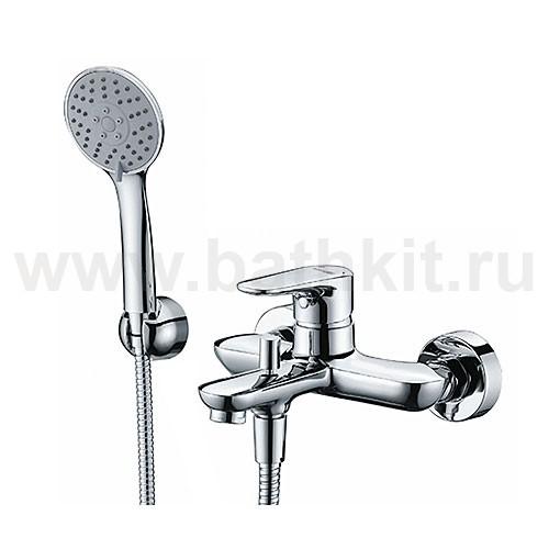 Смеситель WasserKraft Vils 5601 для ванны с коротким изливом - фото