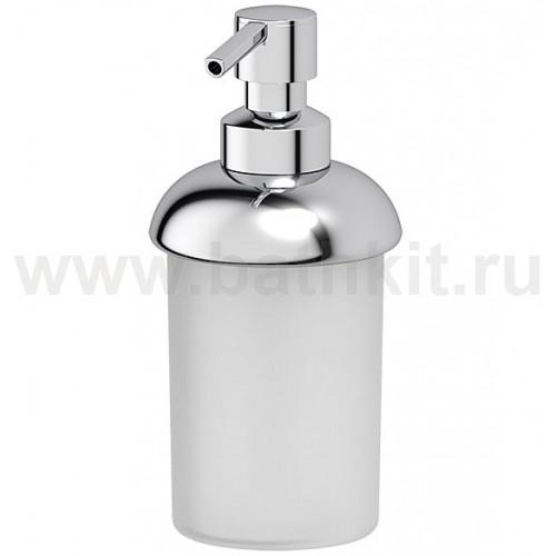 Емкость для жидкого мыла настольная (пластик; хром) FBS Universal - фото