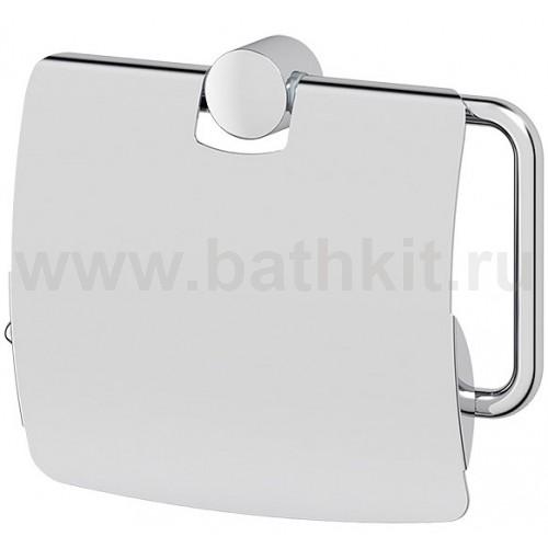 Держатель туалетной бумаги с крышкой - компонент (хром) FBS Universal - фото