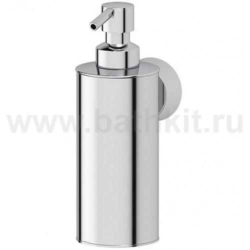 Емкость для жидкого мыла металлическая (хром) FBS Vizovice - фото