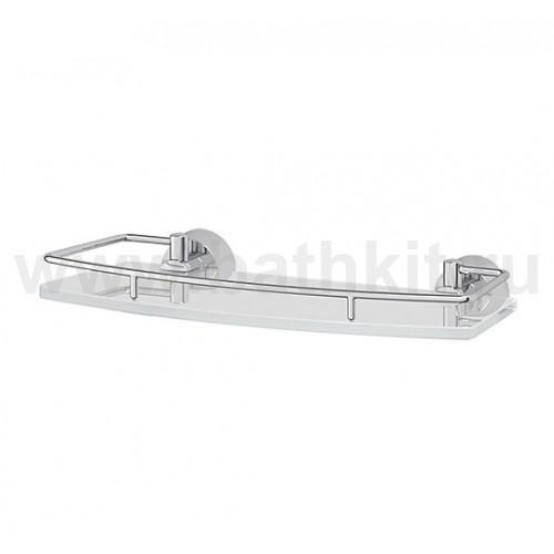 Полка 30 см (матовое стекло; хром) FBS Vizovice - фото