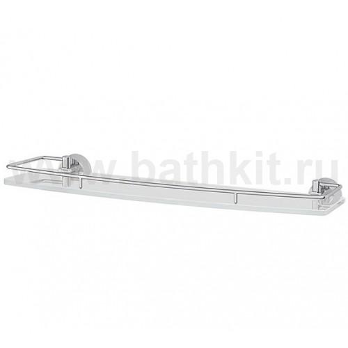 Полка 50 см (матовое стекло; хром) FBS Vizovice - фото