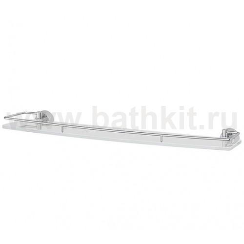 Полка 60 см (матовое стекло; хром) FBS Vizovice - фото