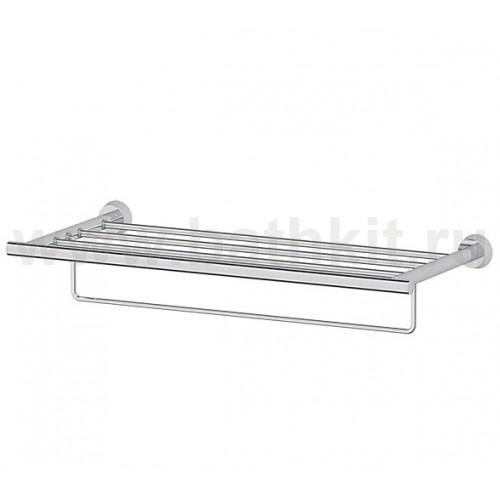 Полка для полотенец 60 см (хром) FBS Vizovice - фото