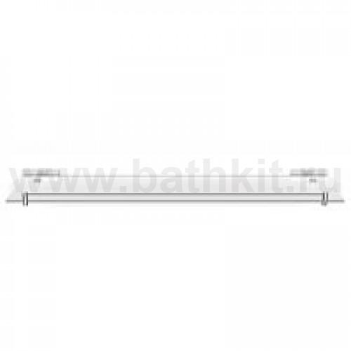 Полка стеклянная прямая 40 см