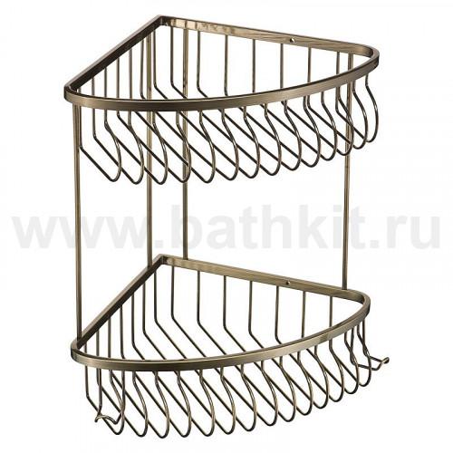 Полка угловая решетка 2-эт.