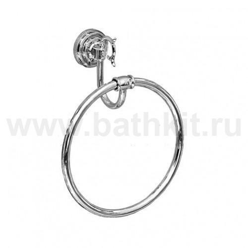 Вешалка-кольцо, хром