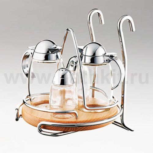 Держатель подвесной для соли, перца, масла и уксуса
