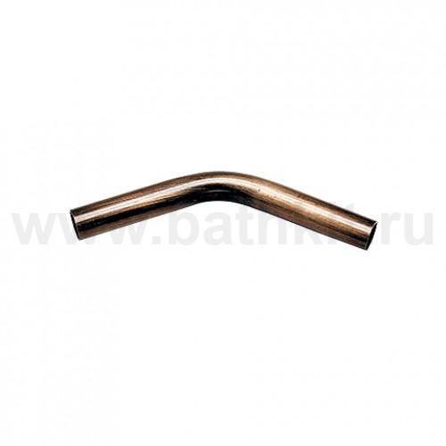 Труба угловая 135 гр. + 2 соединителя