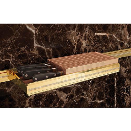 Держатель для ножей горизонтальный 435х160 мм