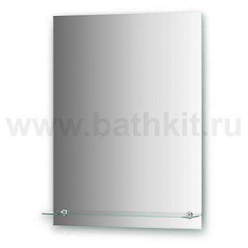 Зеркало с полочкой (60х80 см)