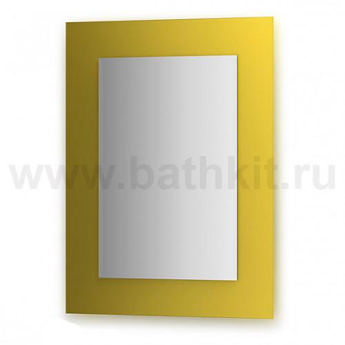 Зеркало  (60х80 см, желтый)