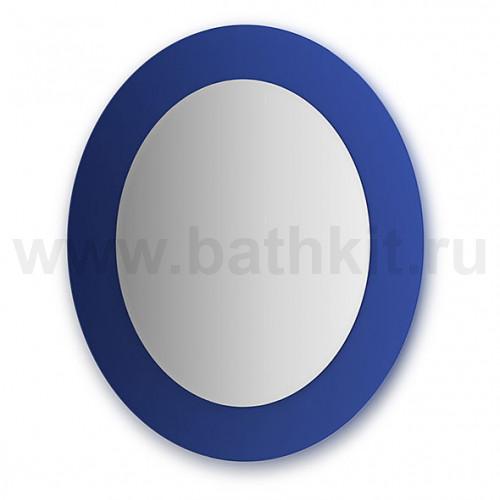 Зеркало  (70х80 см, синий)
