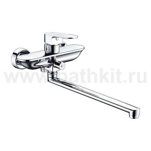 Смеситель для ванны с длинным поворотным изливом 5802L