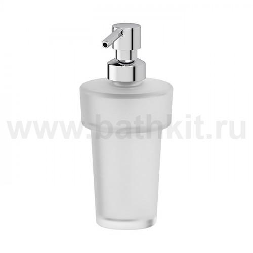 Дозатор жидкого мыла (матовый хрусталь)