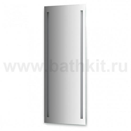 Зеркало со встроенными светильниками (60х160 см, хром)